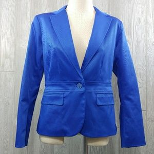7th Avenue Design Studio Royal Blue Blazer ☮️